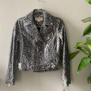 NWT *Real Leather* MICHAEL Michael Kors jacket!!